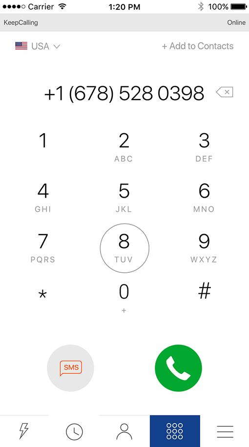 International calling app to United Kingdom  Free download